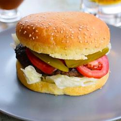 همبرگر کلاسیک